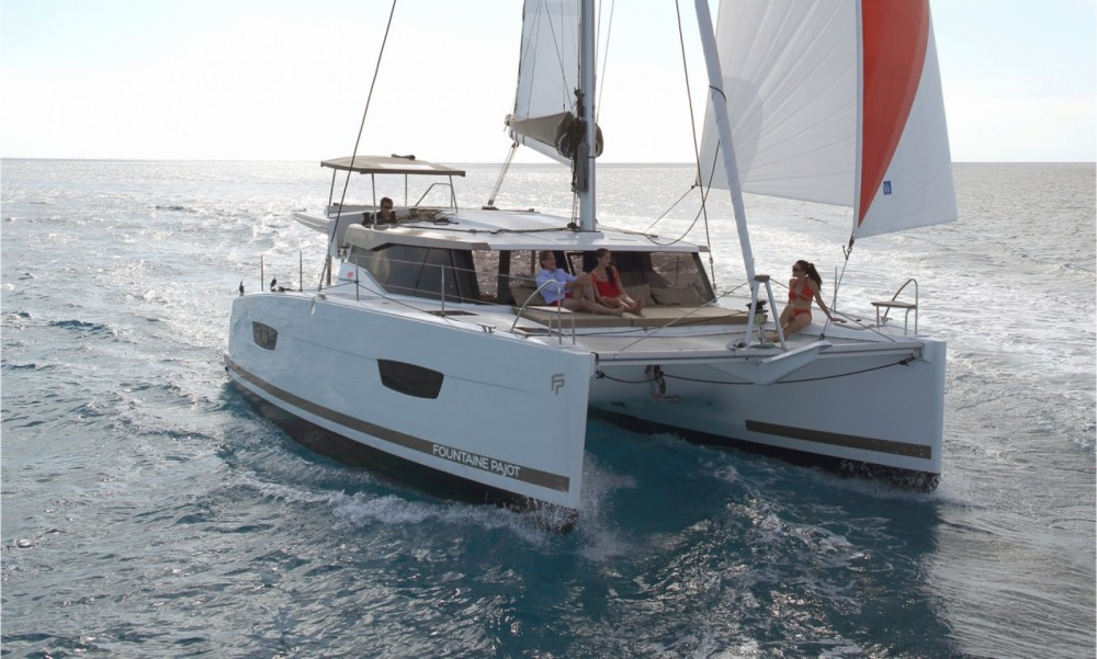 Boat rental Seget Donji cheap Fountaine Pajot Lucia 40