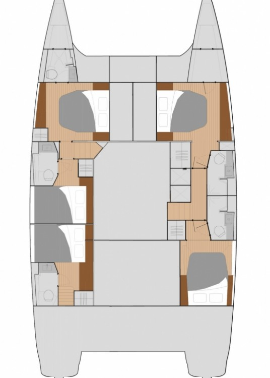 Hire Catamaran with or without skipper Fountaine Pajot Central Greece