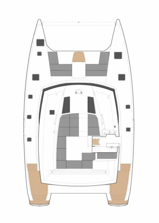 Rental yacht Central Greece - Fountaine Pajot Fountaine Pajot Saba 50 - 6 + 2 cab. on SamBoat
