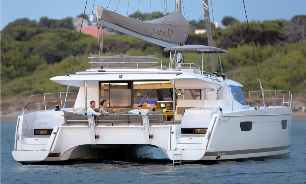 Boat rental Fountaine Pajot Fountaine Pajot Saba 50 - 6 + 2 cab. in Central Greece on Samboat
