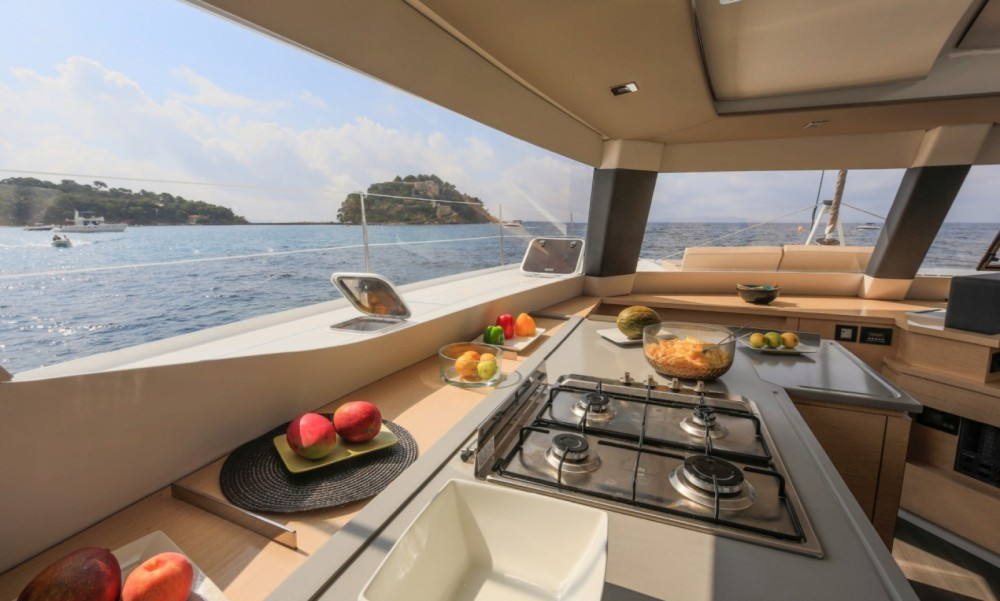 Rent a Fountaine Pajot Fountaine Pajot Saba 50 - 6 + 2 cab. Central Greece