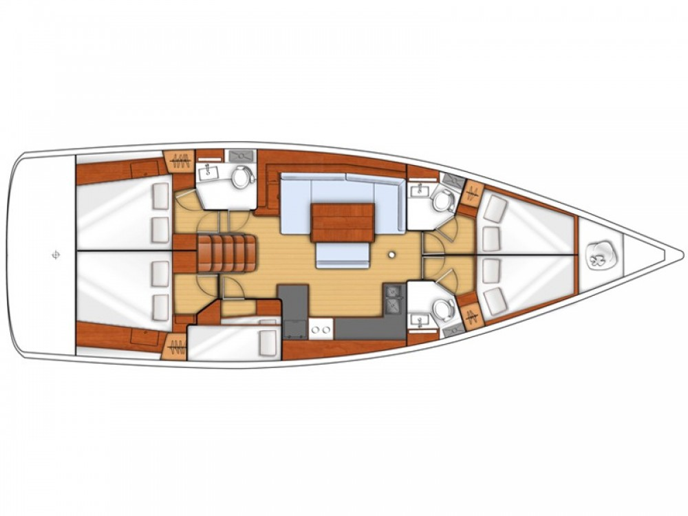 Rental Sailboat in Skiathos - Bénéteau Oceanis 48