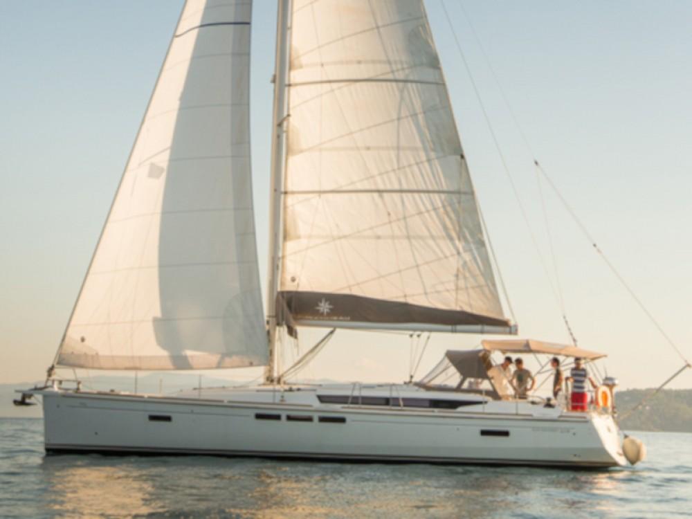 Boat rental Σκιάθος cheap Sun Odyssey 519 (AC, Gen)
