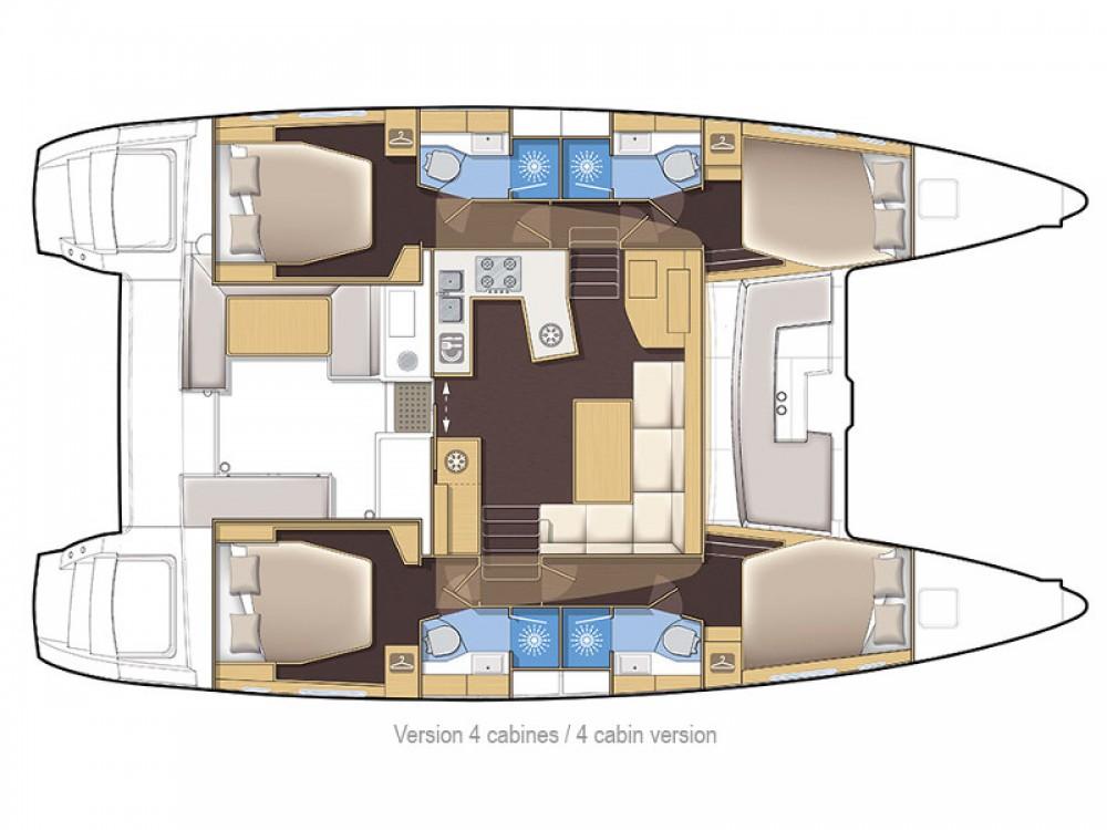 Louer Catamaran avec ou sans skipper Lagoon à Capo d'Orlando Marina
