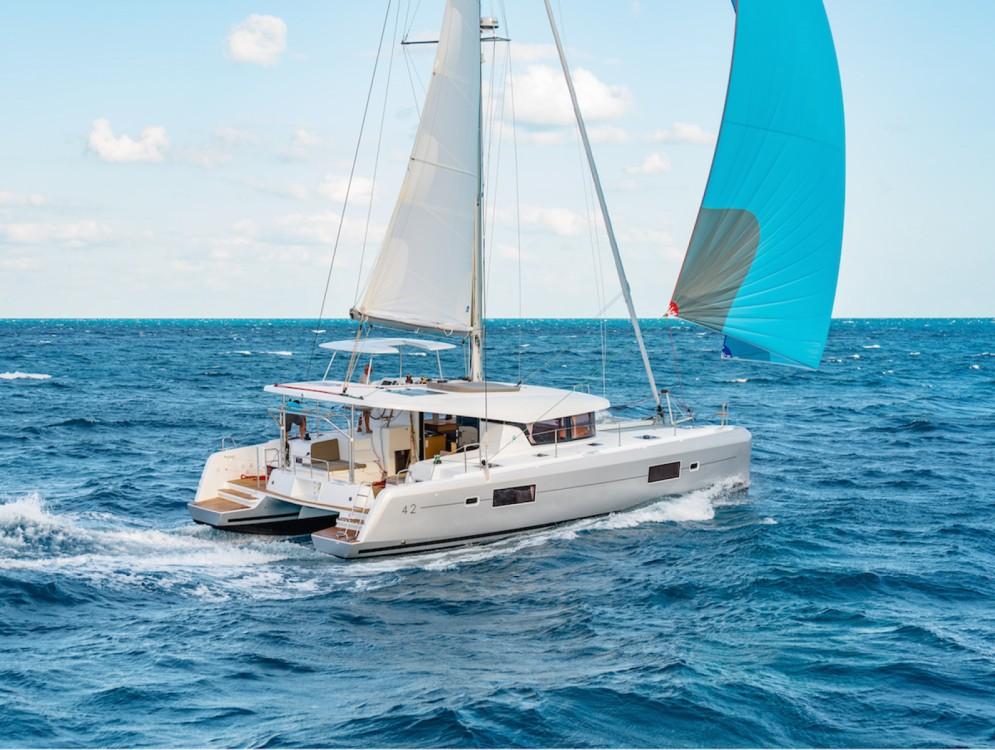 Boat rental Balearic Islands cheap Lagoon 42
