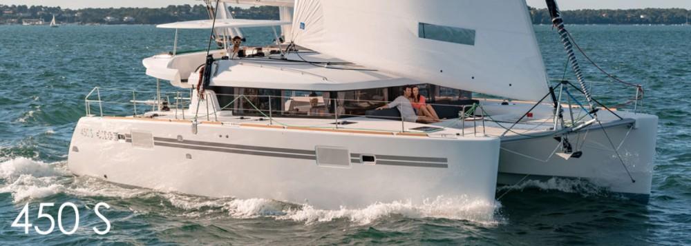 Rental Catamaran in Balearic Islands - Lagoon Lagoon 450 S - 4 + 2 cab.
