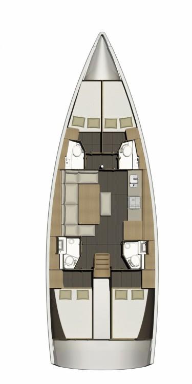 Rental yacht Furnari - Dufour Dufour 460 GL on SamBoat