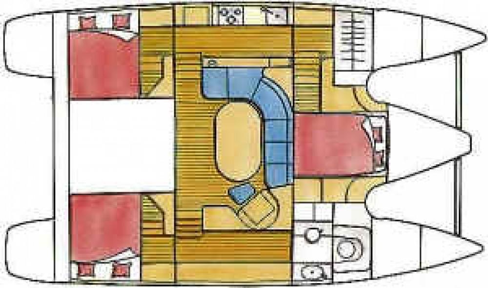 Boat rental Marina Gouvia cheap Privilege 37