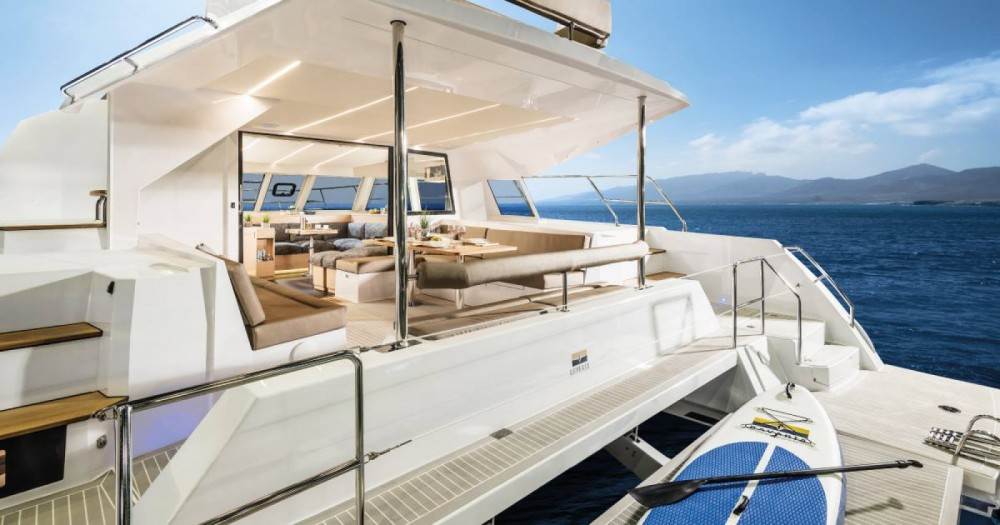 Rental yacht Corfu - Bavaria Nautitech 47 Power - 4 + 2 cab. on SamBoat