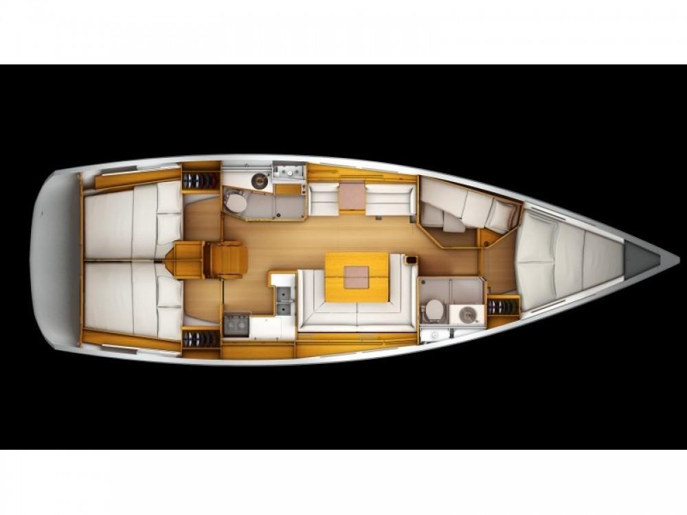 Rent a Jeanneau Sun Odyssey 439 Marina de Alimos