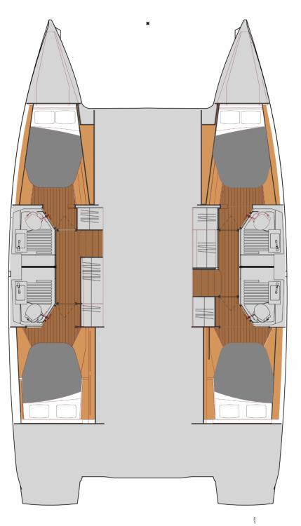 Boat rental Seget Donji cheap Fountaine Pajot Astrea 42
