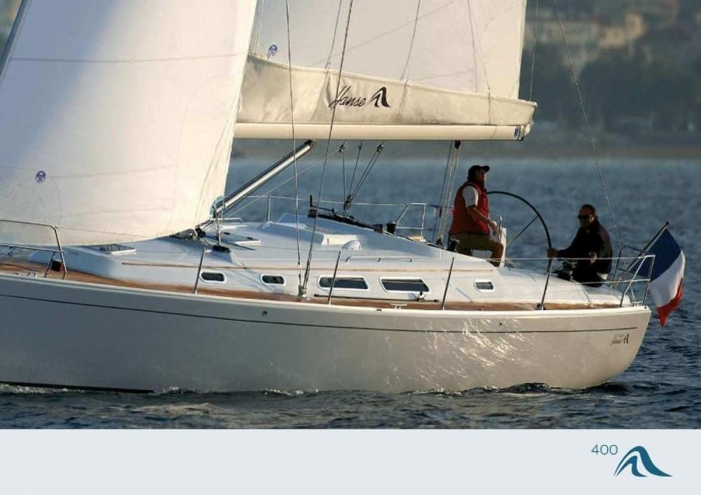 Rental Sailboat in Croatia - Hanse Hanse 400