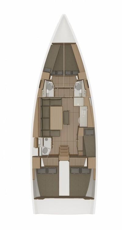 Rental yacht Croatia - Dufour Dufour 460 GL - 5 cab. on SamBoat