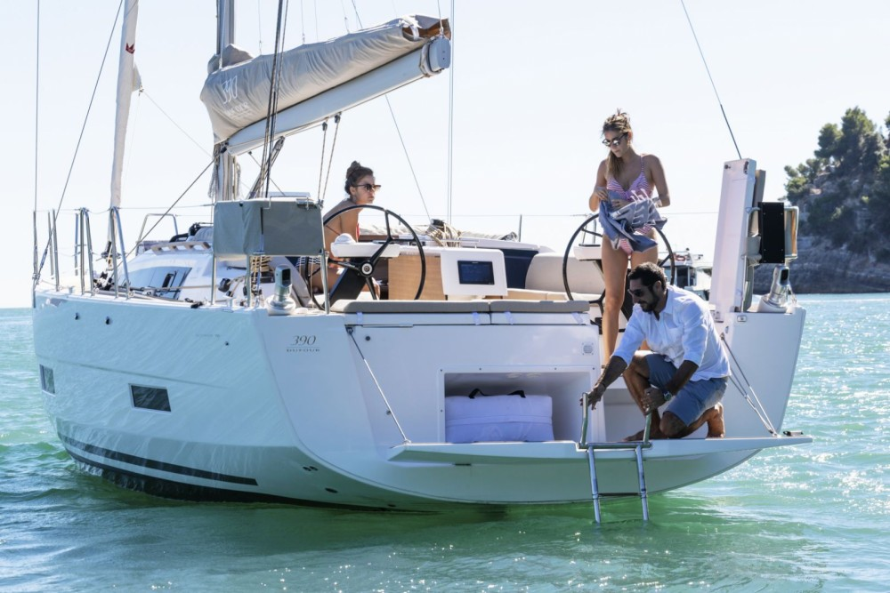 Boat rental Sukošan cheap Dufour 390 GL