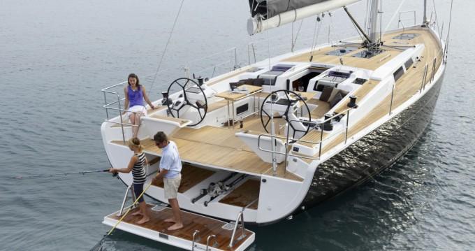 Noleggio barche Central Greece economico Hanse 575 - 2 cab.