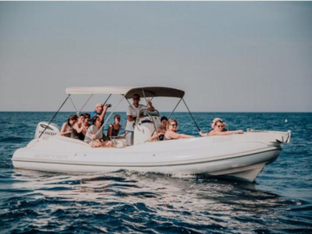Rental Motor boat in ACI Marina Trogir -  Scanner 710