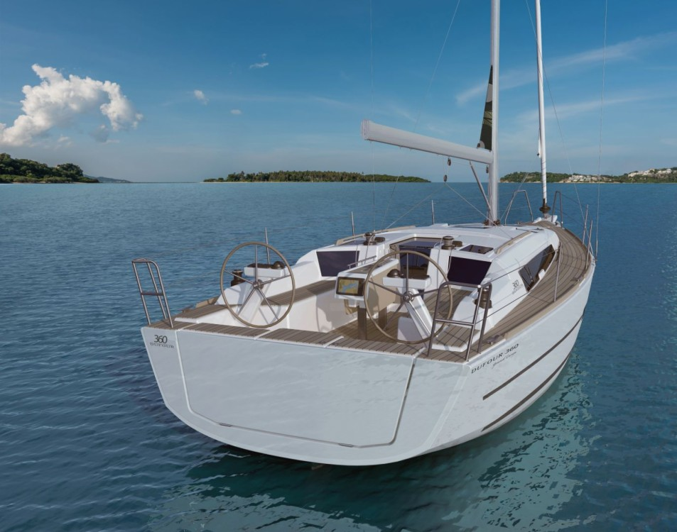 Boat rental Croatia cheap Dufour 360 Grand Large