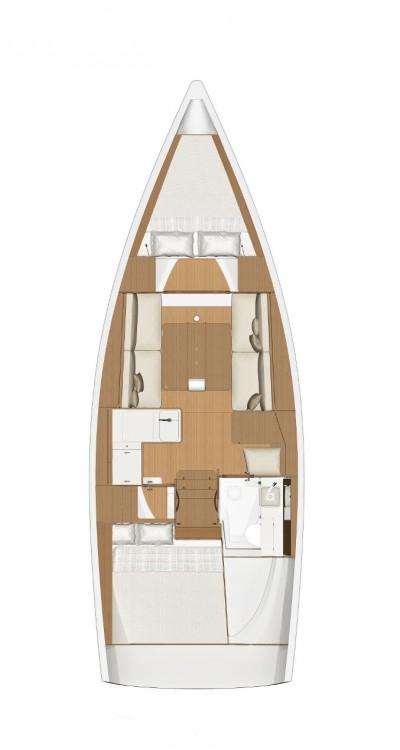 Rental Sailboat in Croatia - Dufour Dufour 360 Grand Large