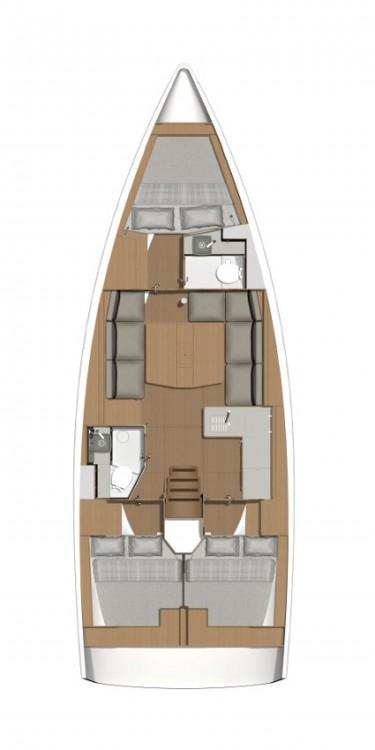 Rental Sailboat in Croatia - Dufour Dufour 390 GL
