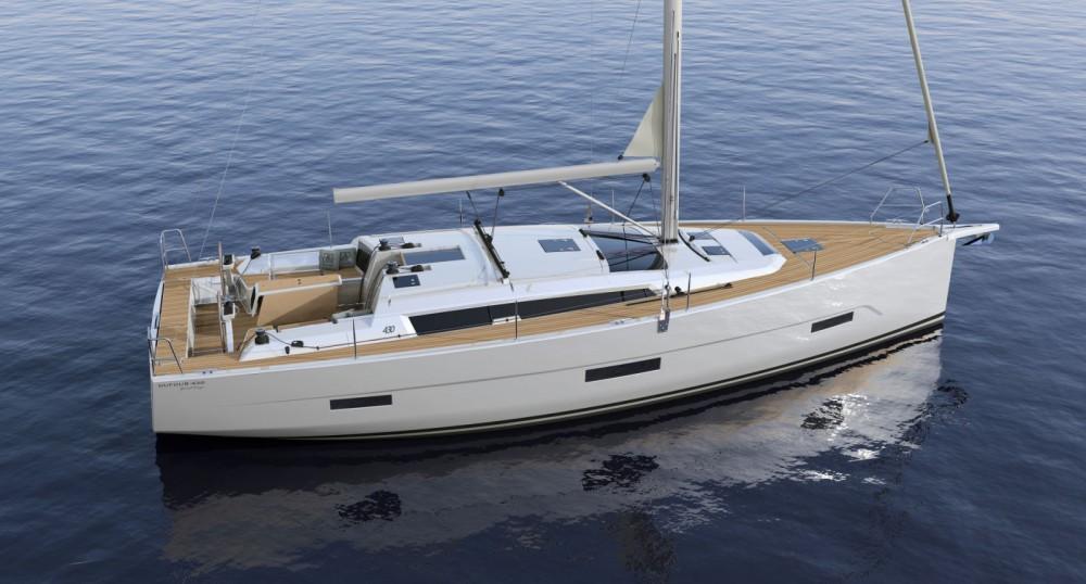 Boat rental Croatia cheap Dufour 430 GL