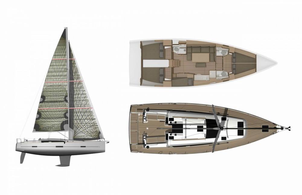 Boat rental Seget Donji cheap Dufour 460 GL - 5 cab.