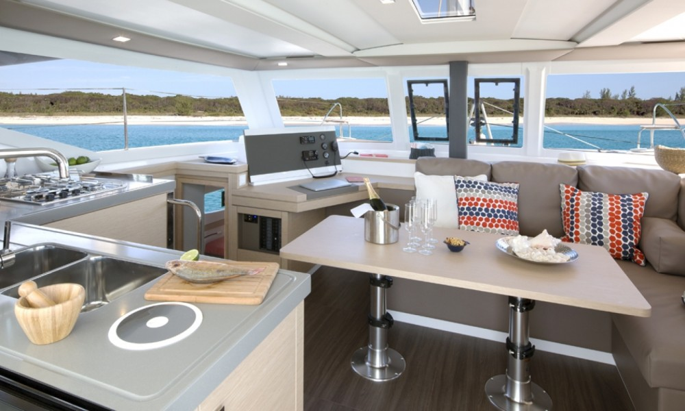 Boat rental Marina Punat cheap Fountaine Pajot Lucia 40 - 3 cab.