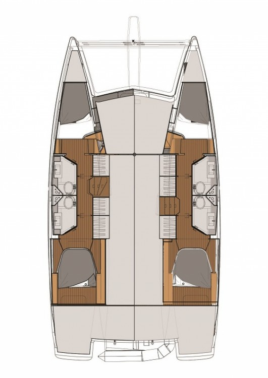 Boat rental Fountaine Pajot Fountaine Pajot Lucia 40 in Pula on Samboat