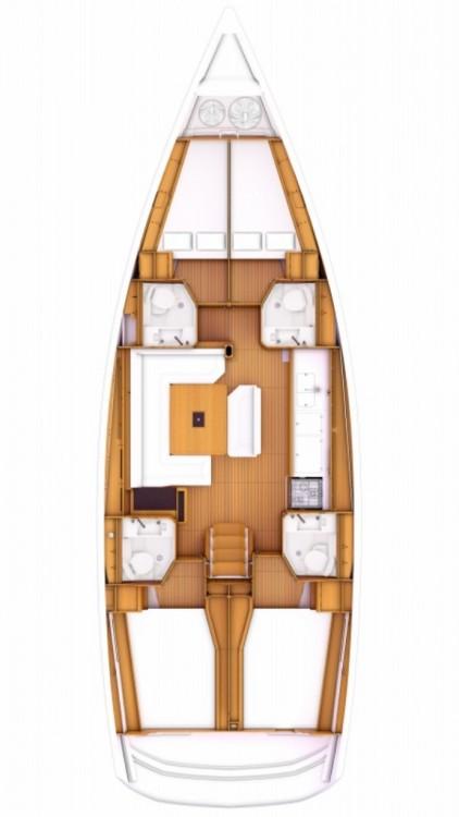 Boat rental Jeanneau Sun Odyssey 479 - 4 cab. in Pula on Samboat