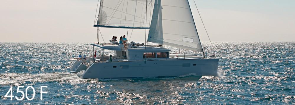 Boat rental Lagoon Lagoon 450 F - 4 + 2 cab. in Croatia on Samboat