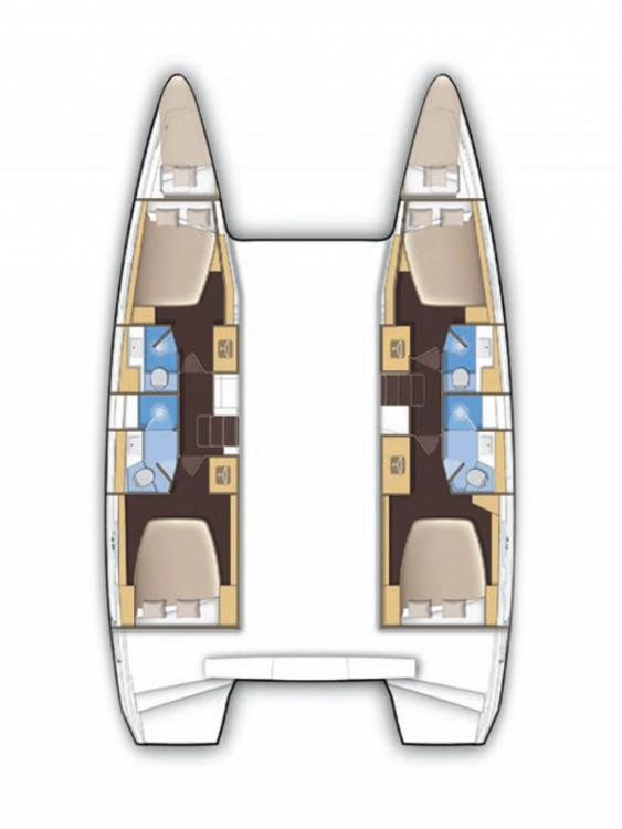Rental yacht Laurium - Lagoon Lagoon 42 on SamBoat