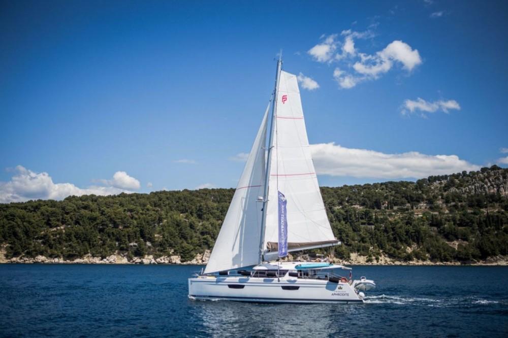 Rental Catamaran in Seget Donji - Fountaine Pajot Fountaine Pajot Saba 50 - 6 + 1 cab.
