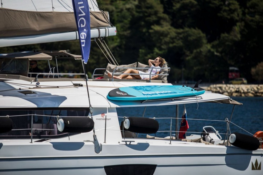 Boat rental Fountaine Pajot Fountaine Pajot Saba 50 - 6 + 1 cab. in Seget Donji on Samboat