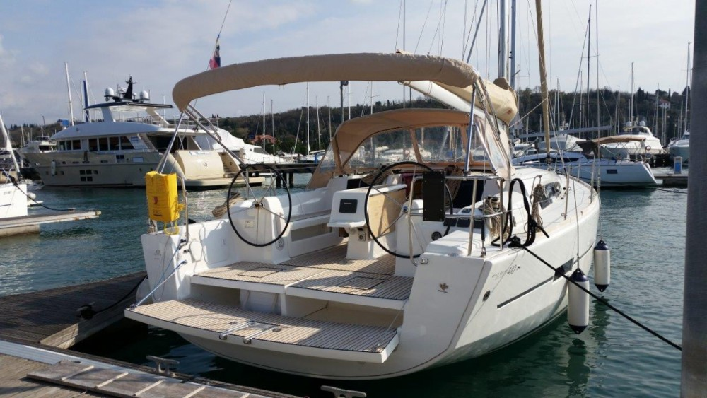 Dufour Dufour 410 GL between personal and professional Marina Punat