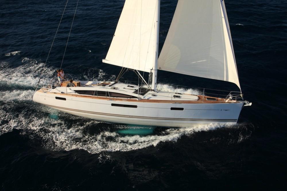 Boat rental Central Greece cheap Jeanneau 53 - 5 + 1 cab.