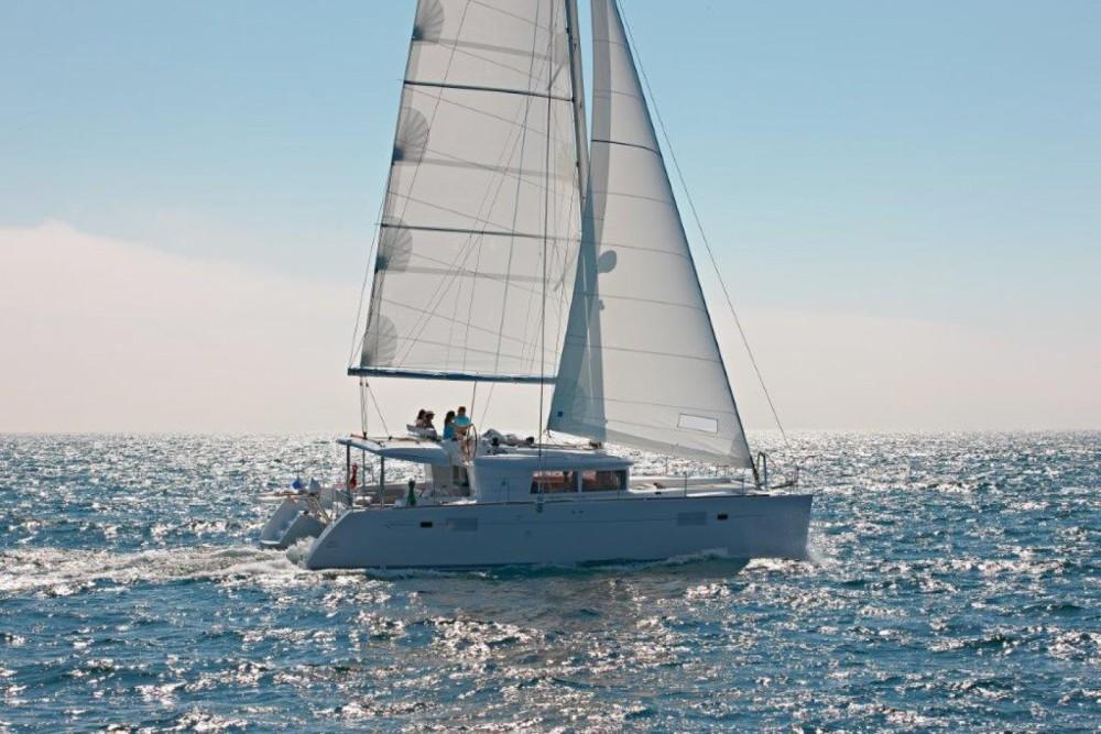 Rental Catamaran in Central Greece - Lagoon Lagoon 450 F - 4 + 1 cab.