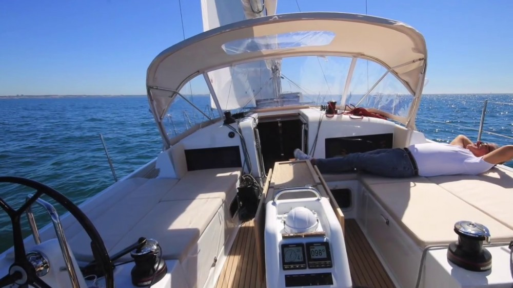 Jeanneau Sun Odyssey 440 between personal and professional Corfu