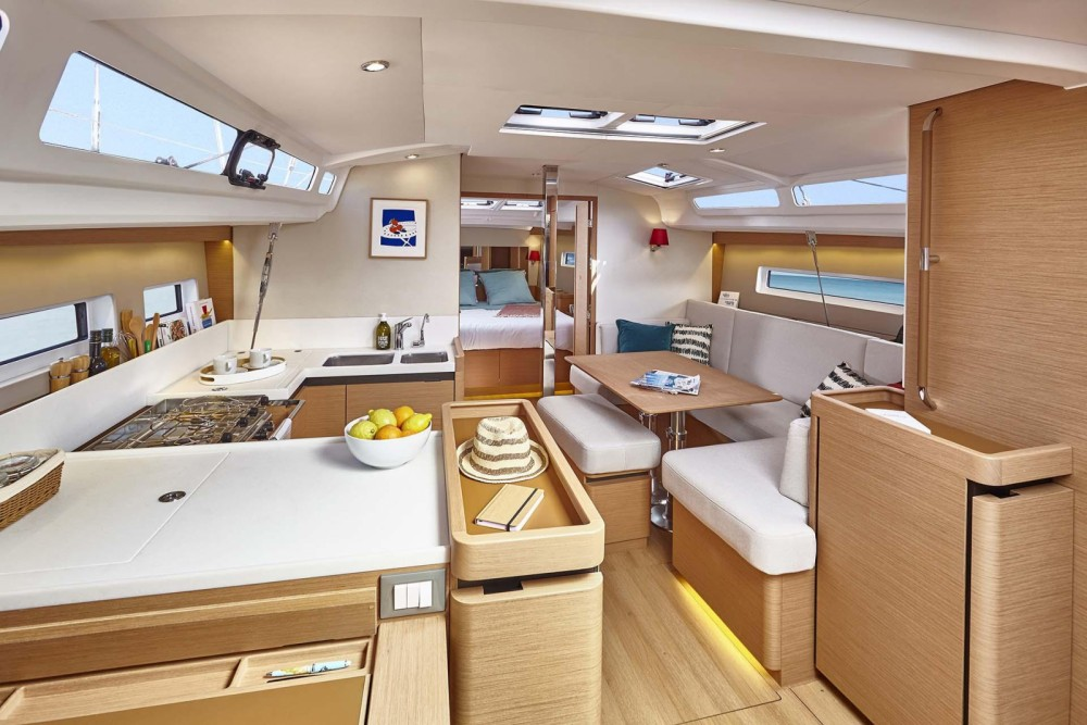 Rental yacht Corfu - Jeanneau Sun Odyssey 440 on SamBoat