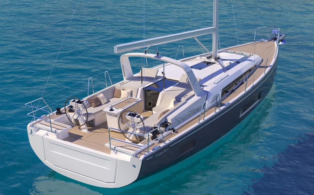 Rental Sailboat in Central Greece - Bénéteau Oceanis 46.1