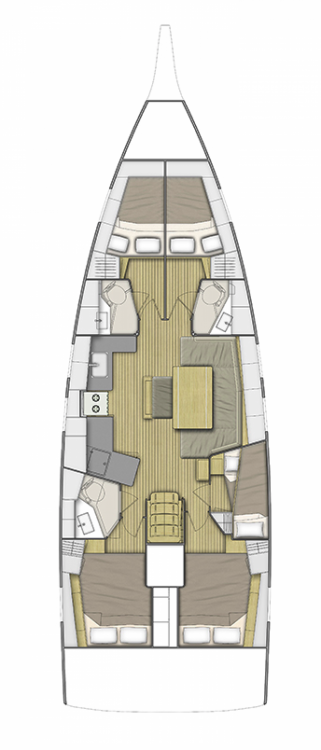 Bénéteau Oceanis 46.1 between personal and professional Central Greece