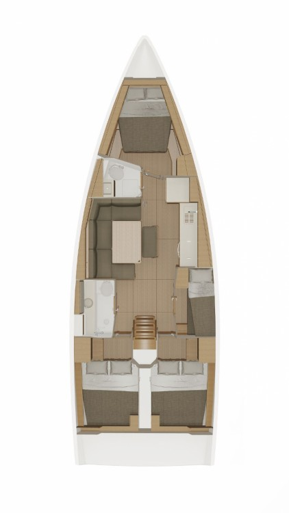 Rental Sailboat in Marmaris - Dufour Dufour 430 GL