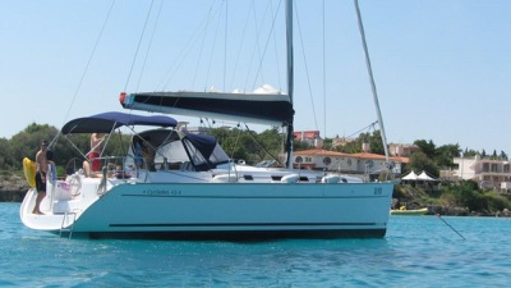 Bénéteau Cyclades 434 between personal and professional Marmaris Yacht Marina A.Ş