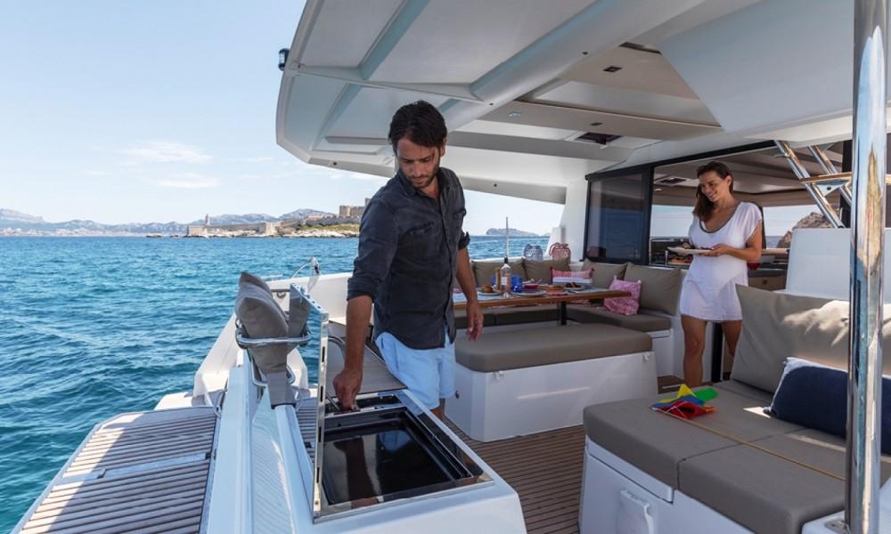 Boat rental Marmaris Yacht Marina A.Ş cheap Fountaine Pajot Astrea 42 - 4 + 1 cab.