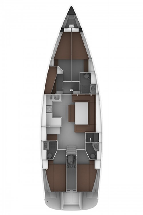 Boat rental Lefkas cheap Bavaria Cruiser 50