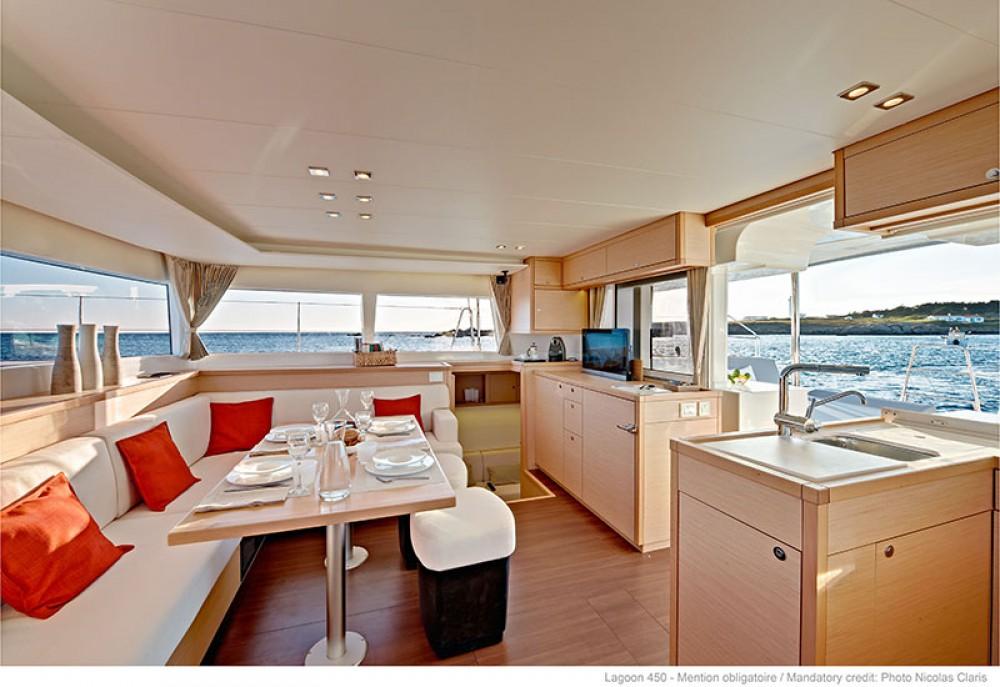 Rental yacht Lefkas - Lagoon Lagoon 450 - 4 + 2 cab. on SamBoat