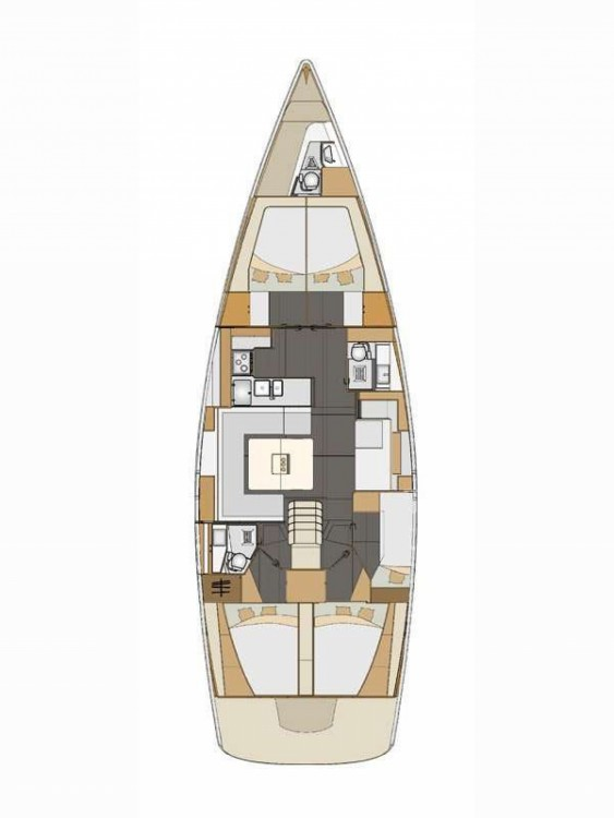 Boat rental Fethiye cheap Elan Impression 50