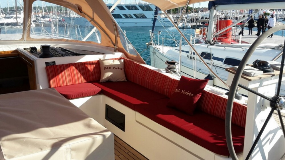 Dd Yacht D&D Kufner 54 between personal and professional Trogir