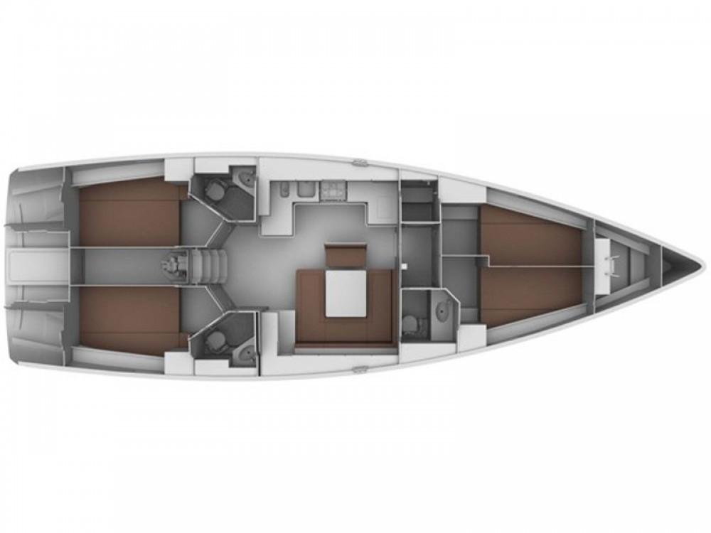 Boat rental Marina Gouvia cheap Bavaria 45 Cruiser