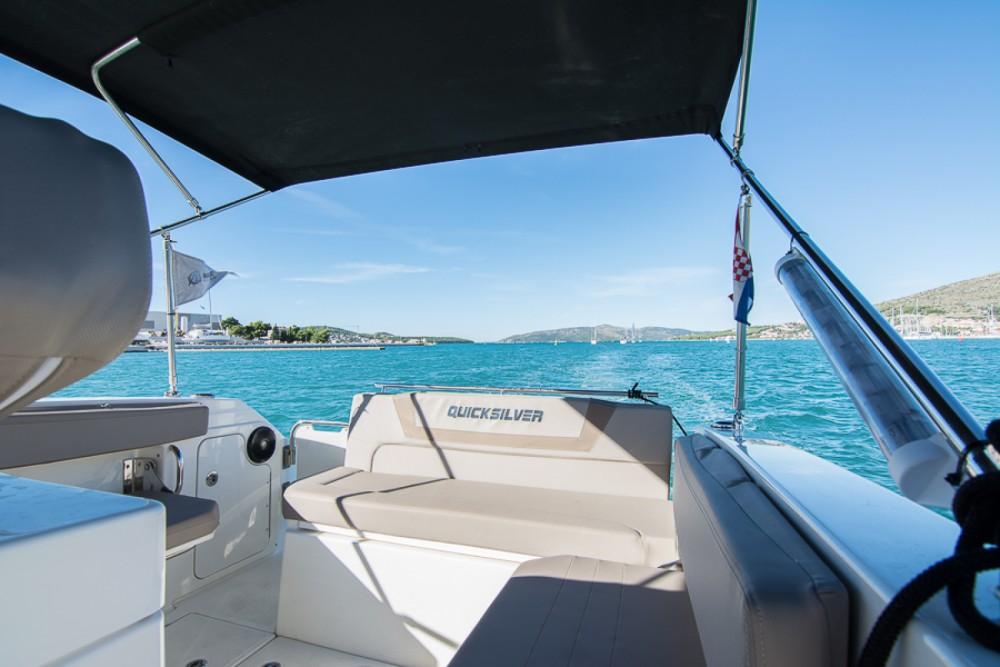 Boat rental Quicksilver Activ 805 in Trogir on Samboat
