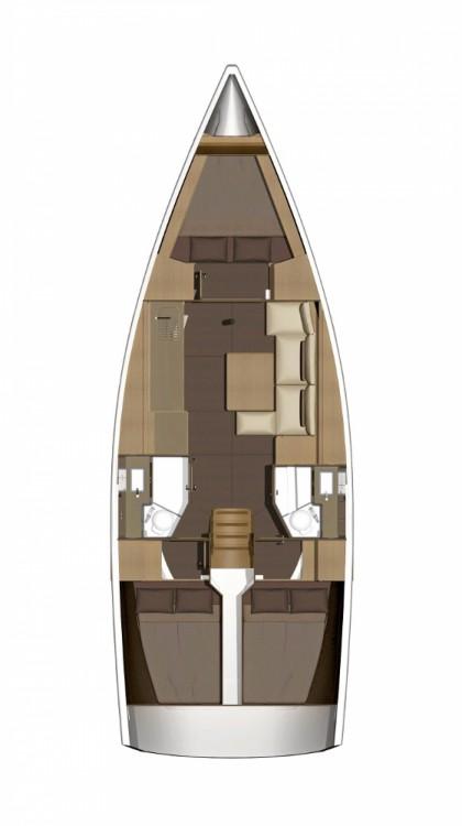 Location bateau Croatie pas cher Dufour 382 GL