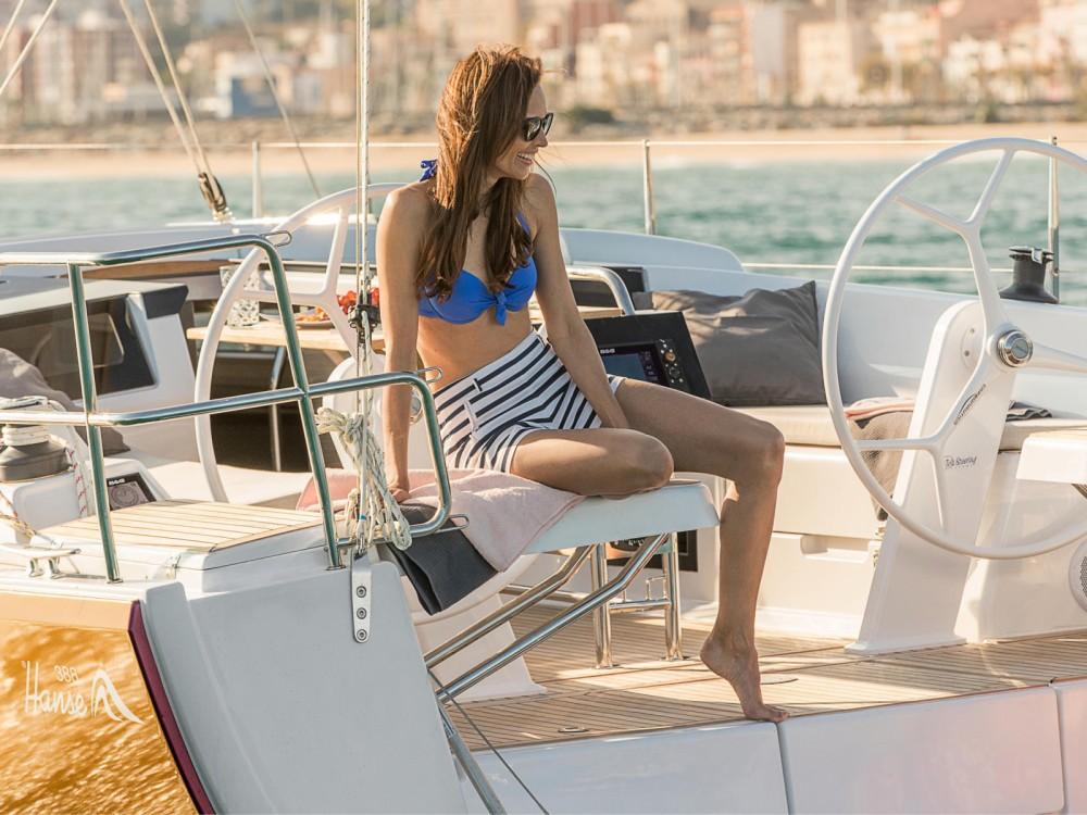 Location yacht à Puerto Deportivo Tomás Maestre - Hanse Hanse 388 sur SamBoat